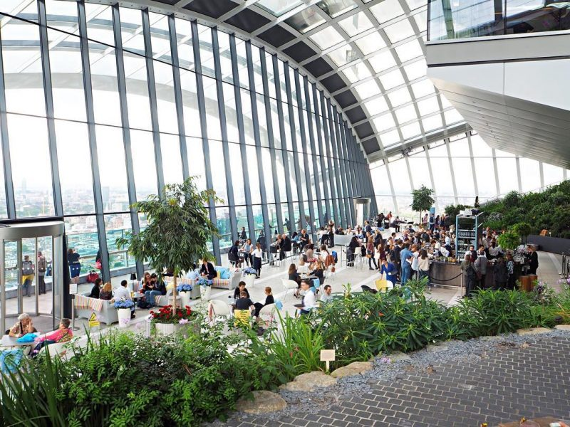 Things to do in London in three days - visit the Sky Garden