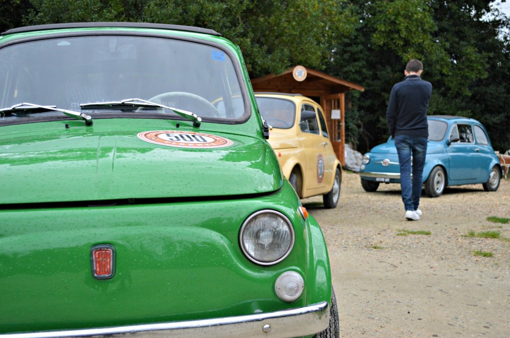 vintage fiat 500s