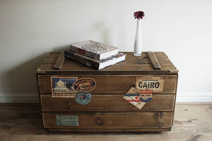 Great Wedding Gift Ideas For Travelers 2 Travel Inspired Steamer Trunk