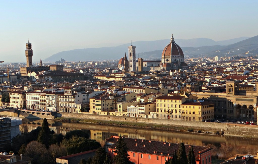 what to do in florence, where are good views in florence, guide to good views in florence