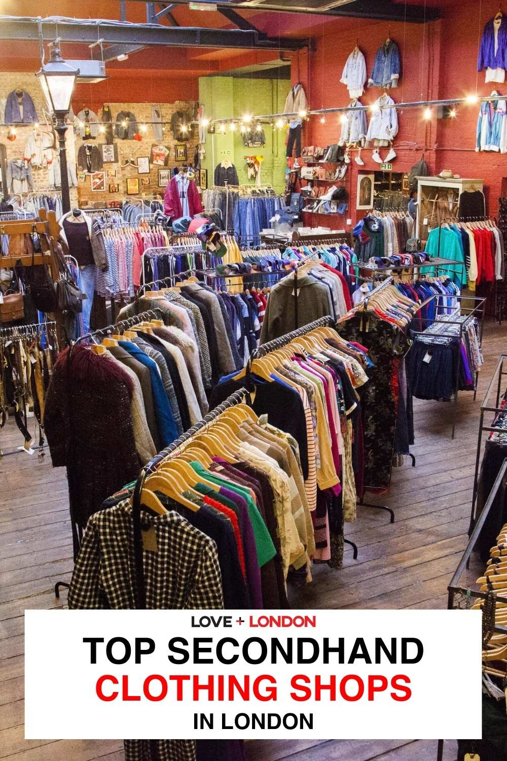 Best secondhand shops in London | Where to go thrift shopping in London