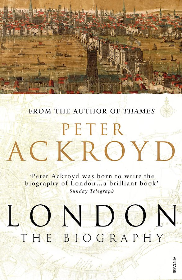 Peter Ackroyd has created a history (he calls it a biography, which makes me love it all the more) not only of the city as a whole, but of specific aspects of its history: gin, childhood, sex and even sewage are delved into, offering readers a broad and deep understanding of all that London has witnessed in its immense lifetime.