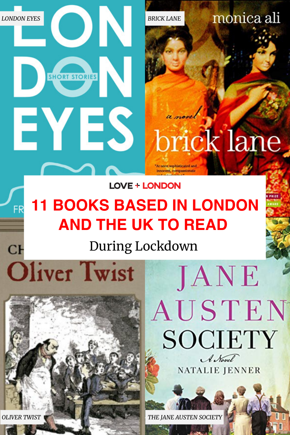 London and UK-based books to read to cure your London blues