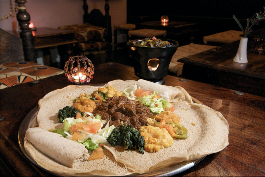 A family run authentic Eritrean restaurant, Mosob brings the flavours and culture of Eritrea to London.