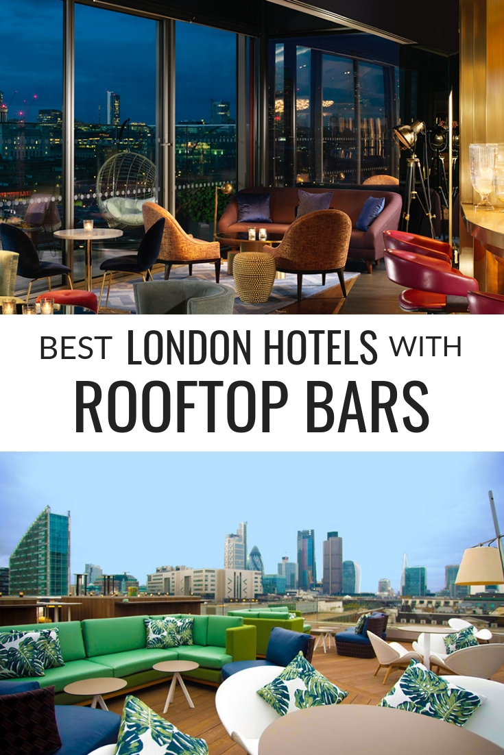 Best London Hotels with Rooftop Bars. Find out which London hotels have rooftop bars or terraces that you can see the London skyline from all year round.