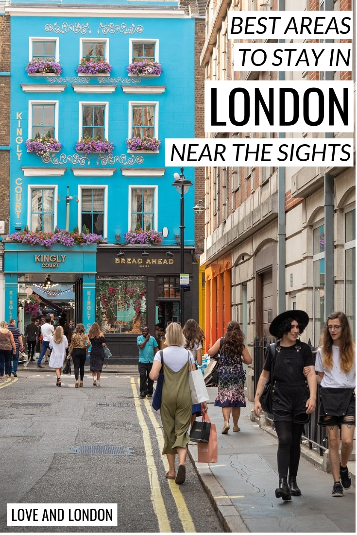 Best areas to stay in London by the sights - three great areas where you'll be within walking distance of many of London's major tourist attractions. Includes recommendations for hotels near London's most famous sights.