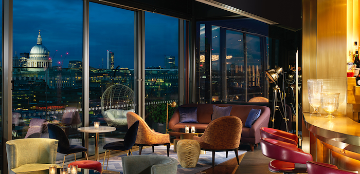 Best hotels in London with rooftop terraces - The Mondrian