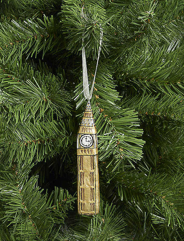 Christmas Tree Ornaments to get for London lovers