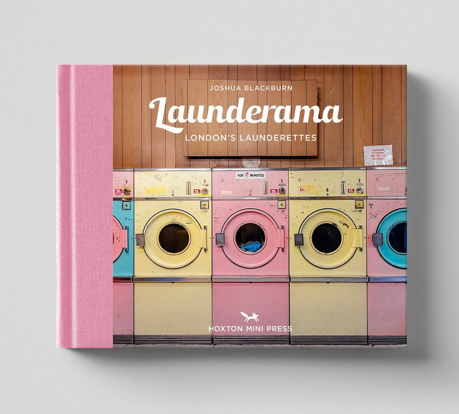 Launderettes (or laundromats) aren't your average coffee table book subject, but somehow, this gorgeous (and extremely niche) book on London's launderettes is inspiring, compelling, and, quite frankly, just cool. Who even knew that the city had so many cute places to wash your clothes?
