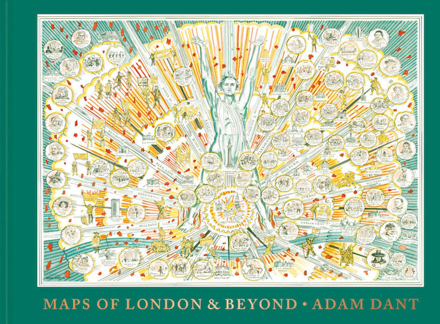 Created by cartographer and artist Adam Dant, Maps of London and Beyond is a visually stunning coffee table book packed with colourfully illustrated maps of London, showing various neighbourhoods of today, as well as days gone by. There are famous faces to be spotted, unusual visualisations of familiar maps (such as a spherical tube map, or a map of London in perfect squares) and countless tiny, clever details to look out for.