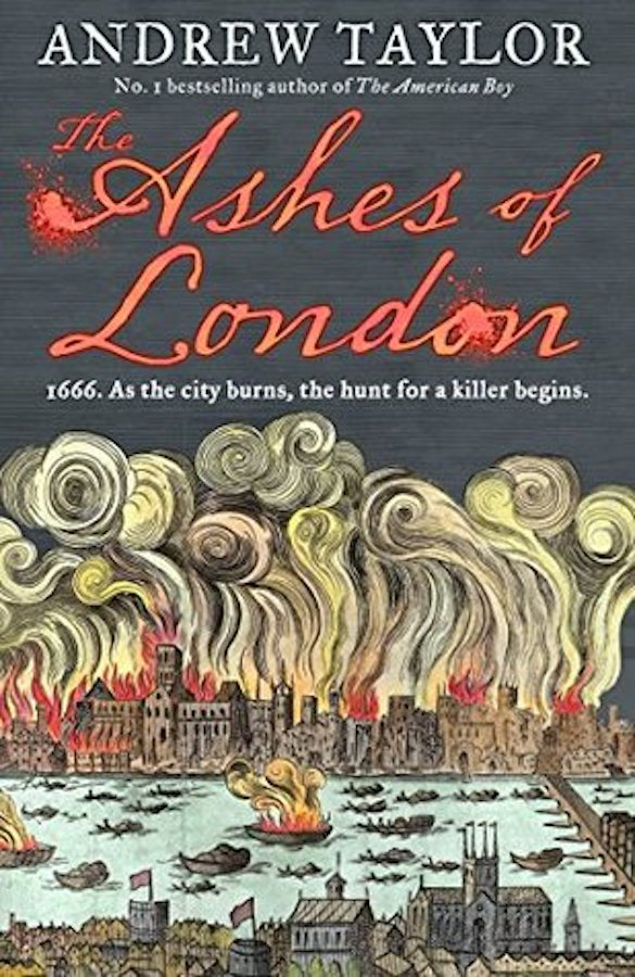 If you love crime novels, and you love learning about London's history, this is the book for you. Set during the time of the Great Fire of London, The Ashes of London is a fast-paced spy thriller that follows the hunt for a killer through the charred streets of the city.