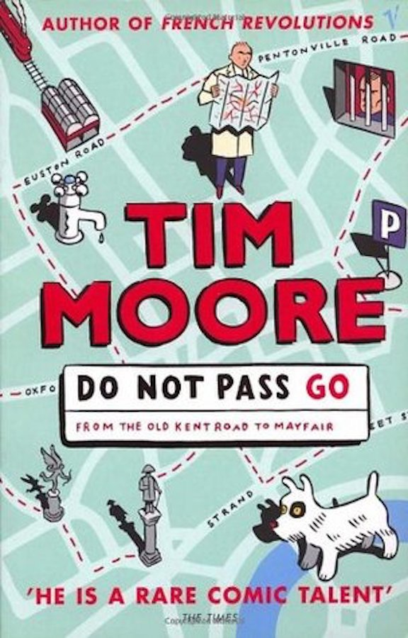 Do Not Pass Go: From the Old Kent Road to Mayfair, which takes readers on a tour of the Monopoly board, telling the histories and tales of each of the tiles on the board. Tim Moore spent a little more time than I did on his tour, staying at a fancy hotel in Mayfair, visiting an inmate at Pentonville prison, and discovering the quirks and mysteries of the destinations that ended up making the Monopoly we know today.