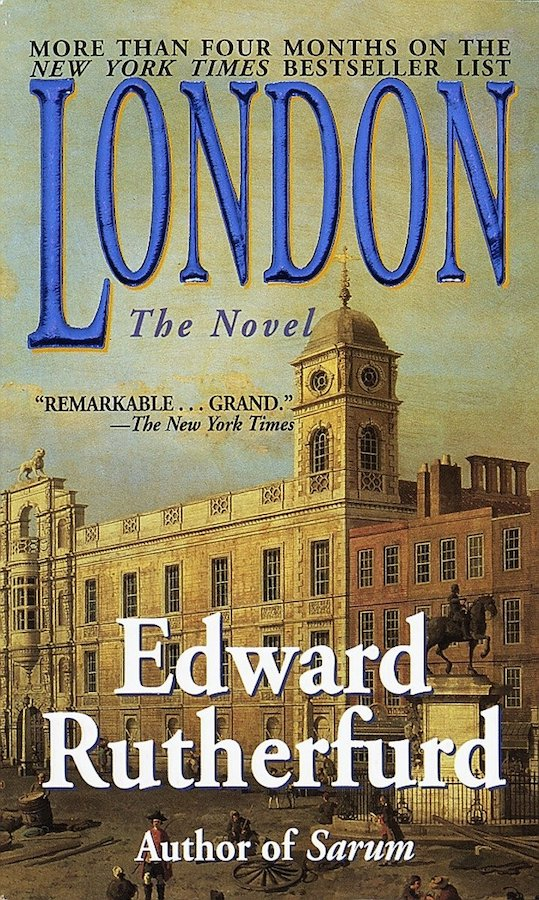 In a story that spans an incredible sixteen centuries, Edward Rutherford brings the lives of Londoners throughout history to life in this epic tale. Based on real events, the story weaves together some of London's key moments, people and places, in a page-turning book of over 800 pages.