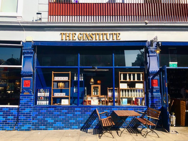 Unique souvenirs to get in London - London-distilled gin from a place like The Distillery on Portobello Road, Notting Hill