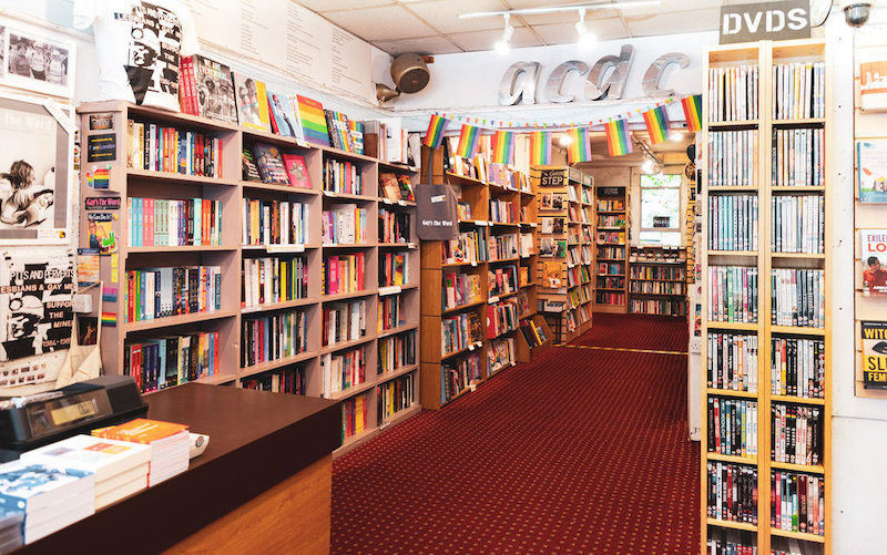 unique souvenirs to get in London - try a book from an independent London bookshop.