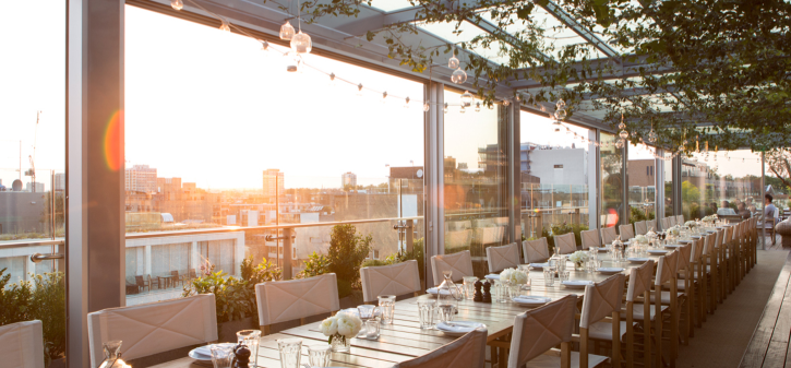 Hotels in London with rooftops - The Boundary