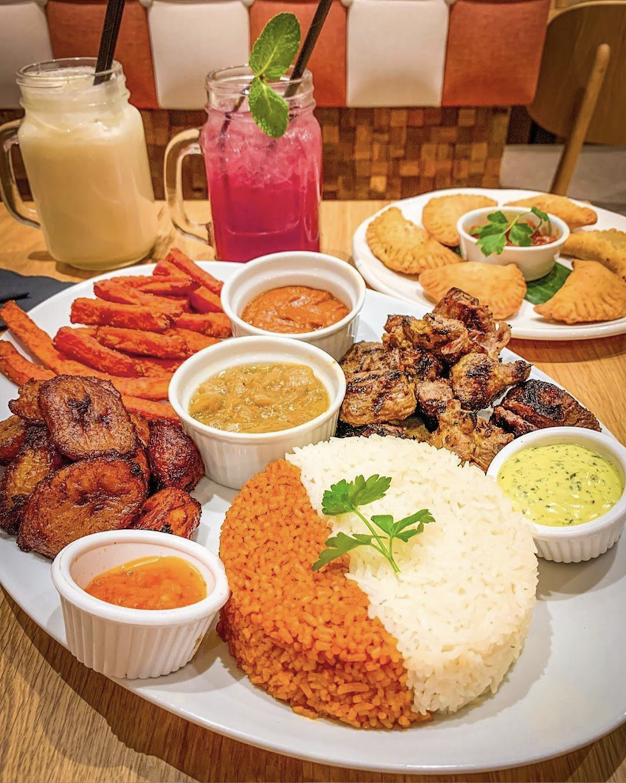It is all said in the name, Afrik 'N' Fusion. The Fulham-located restaurant serves a fusion of flavours and dishes from different countries in Africa.