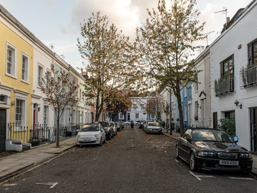 Despite the fact that Portobello Road gets insanely overrun with tourists on the weekend, if you visit it during the week, or if you just literally go anywhere but that road, Notting Hill is a really lovely area that people love to live in and even raise their families.