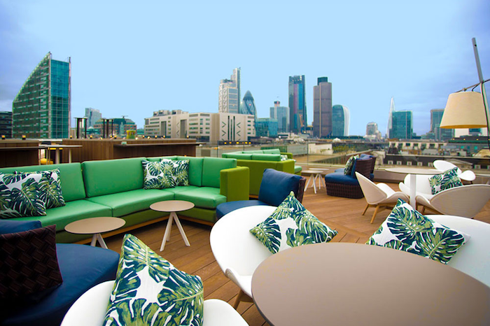 London hotel with a rooftop - The Montcalm Royal