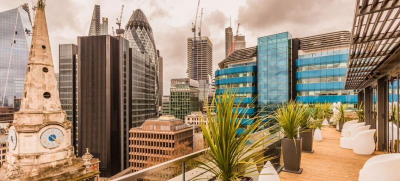 London hotels that have rooftops - Dorsett City