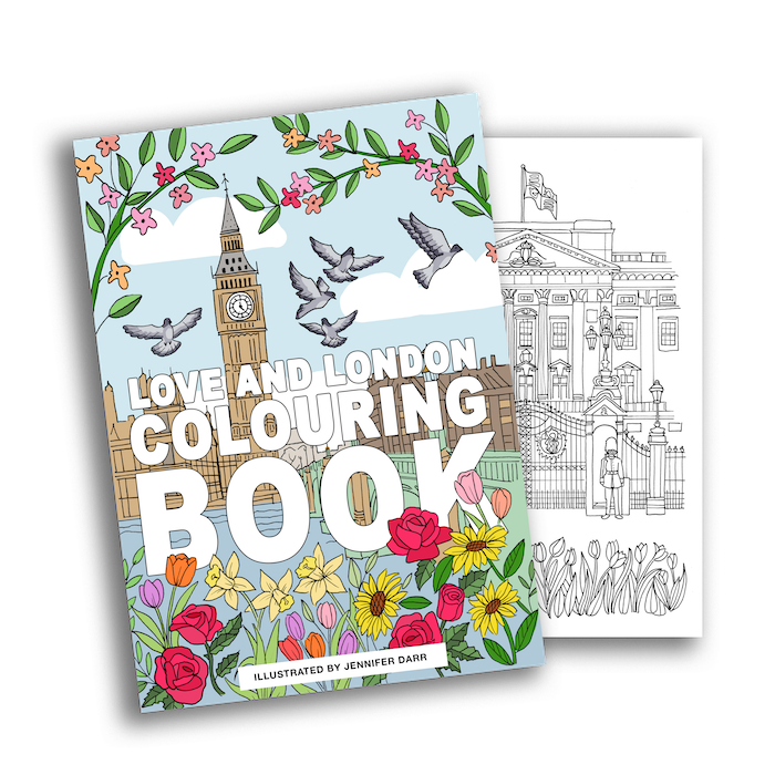 London Colouring London Colouring Book - great gifts for people who love london