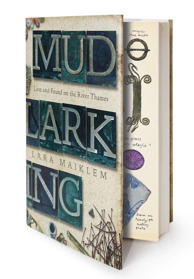 I'd never heard of mudlarking before I moved to London, but it's a fascinating pastime, which involves scavenging for items of value on the banks of the River Thames. When the practice began in the 18th century, it was so much more than a hobby - people made their living by selling whatever trinkets they'd pulled from the muddy banks.