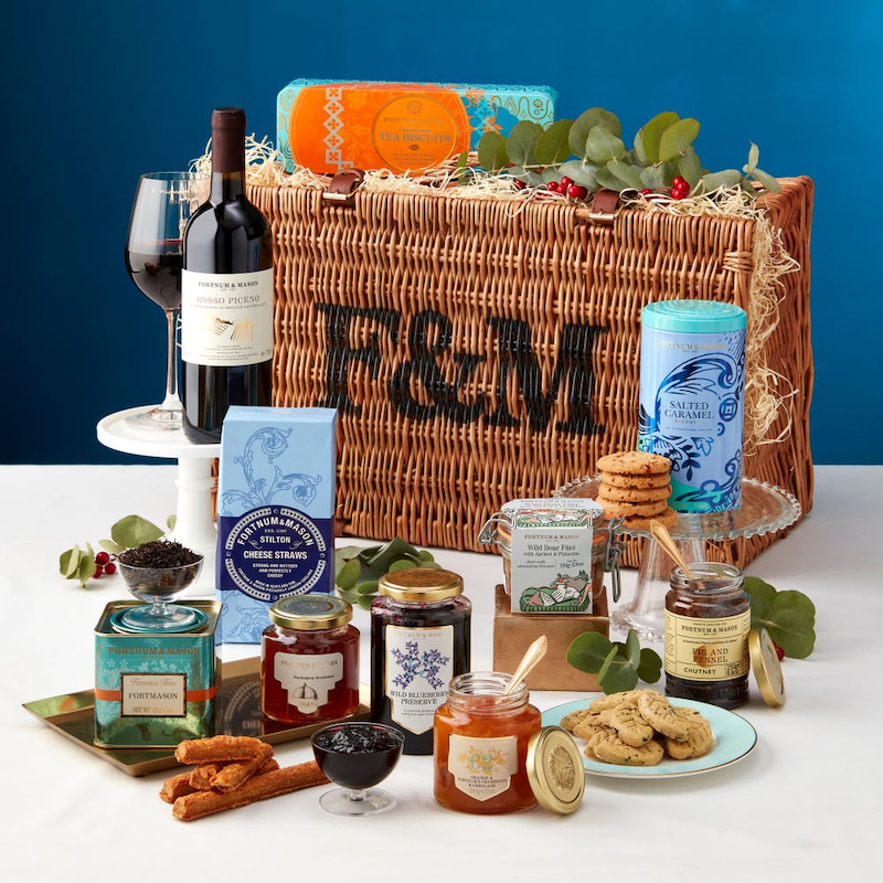 Popular to give as gifts in the UK, like gift baskets