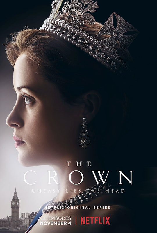 The Crown tv series, many of the interior scenes of Buckingham Palace were actually filmed down the road, in the opulent Lancaster House...