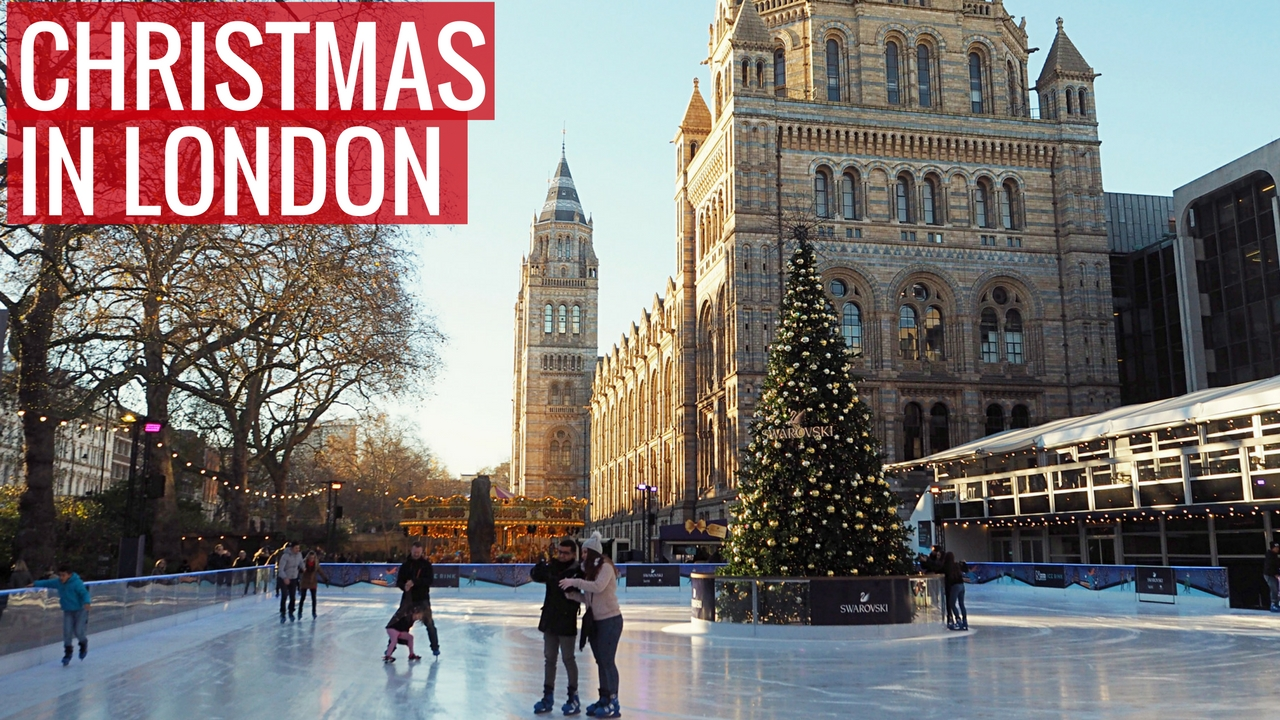 Things to Do in London Over the Christmas Season - find out where to go ice skating in London, the best festive drinks to get, and other great things to do in London over the Christmas season