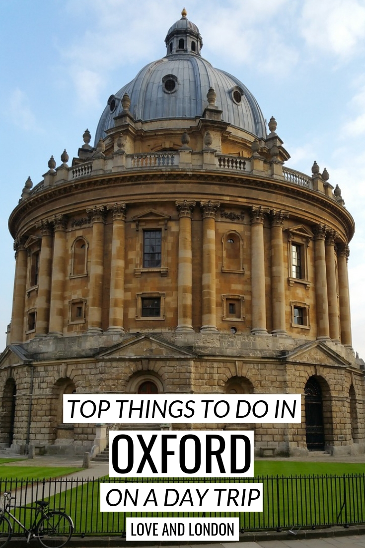 Things to Do in Oxford on a Day Trip from London