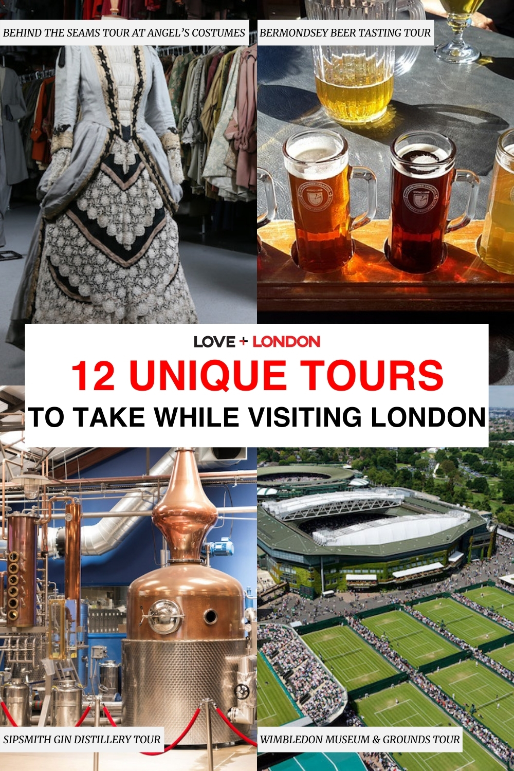 Unique tours to take in london