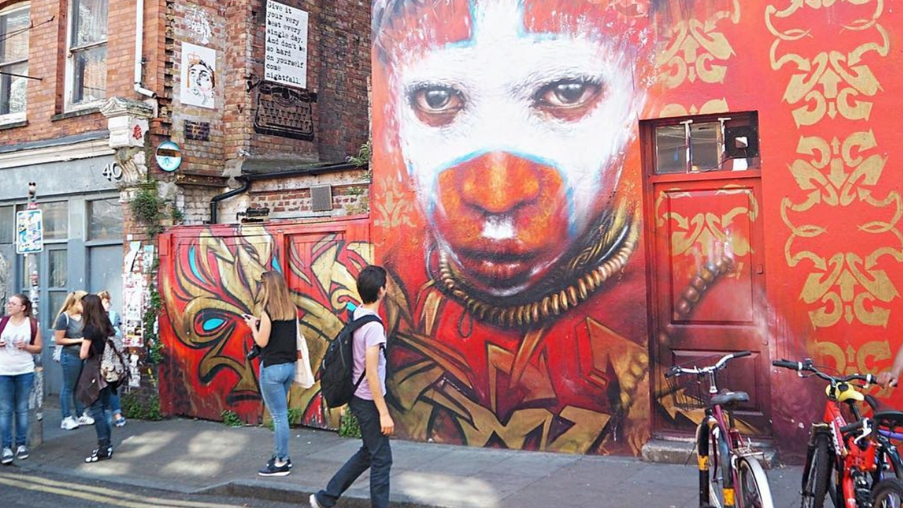 What street art to see in Shoreditch - things to do in Shoreditch london
