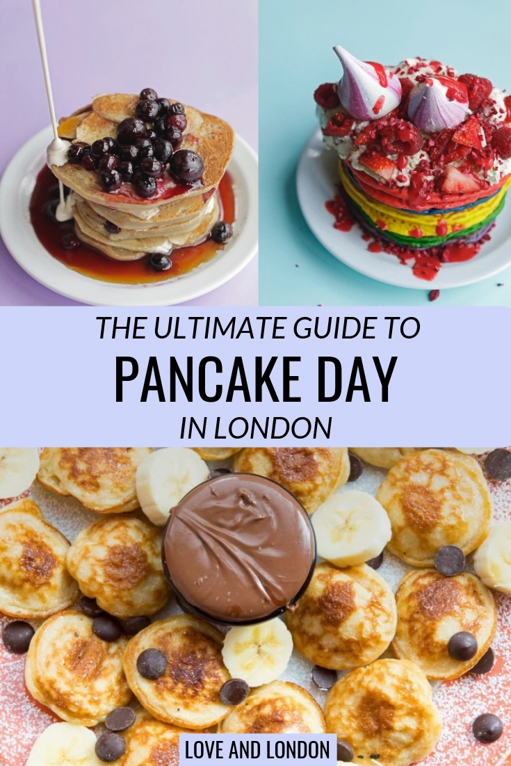 What to do on Pancake Day in London - pancake day is an event in London in February or March, during which it's perfectly acceptable to have pancakes in London for dinner. Click through to find out more about Pancake day in london