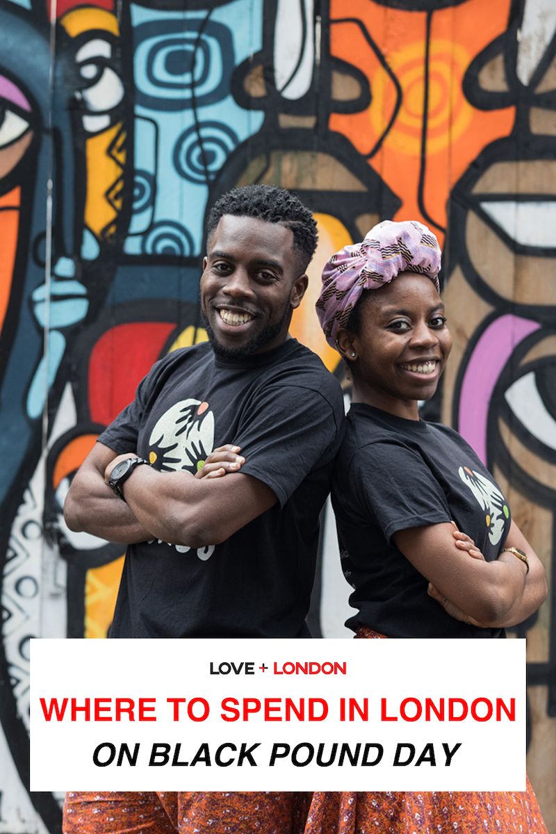 A great list of Black-owned bakeries, shops, restaurants, hair salons and more to support when you're looking for a Black-owned business in London to buy from on Black Pound Day.