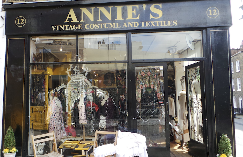 unique souvenirs to get in London - an antique or vintage piece from one of London's spots for antiques shopping.