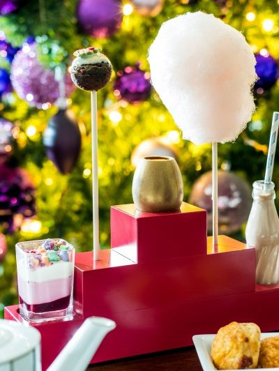 Where to get Christmas afternoon tea in London
