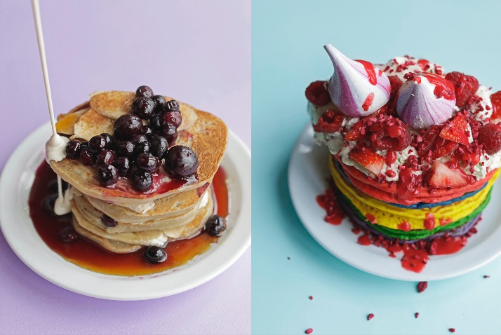 Where to get pancakes in london on pancake day