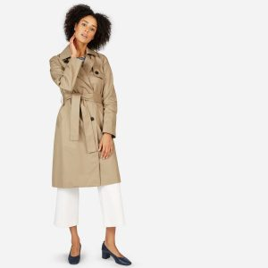 Everlane Women's Drape Trench Coat