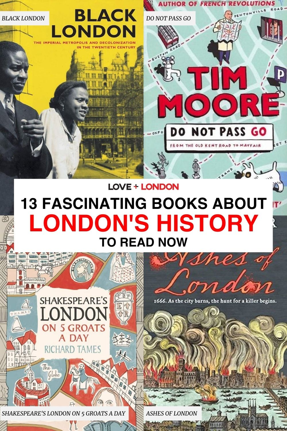 Interesting London history books to read