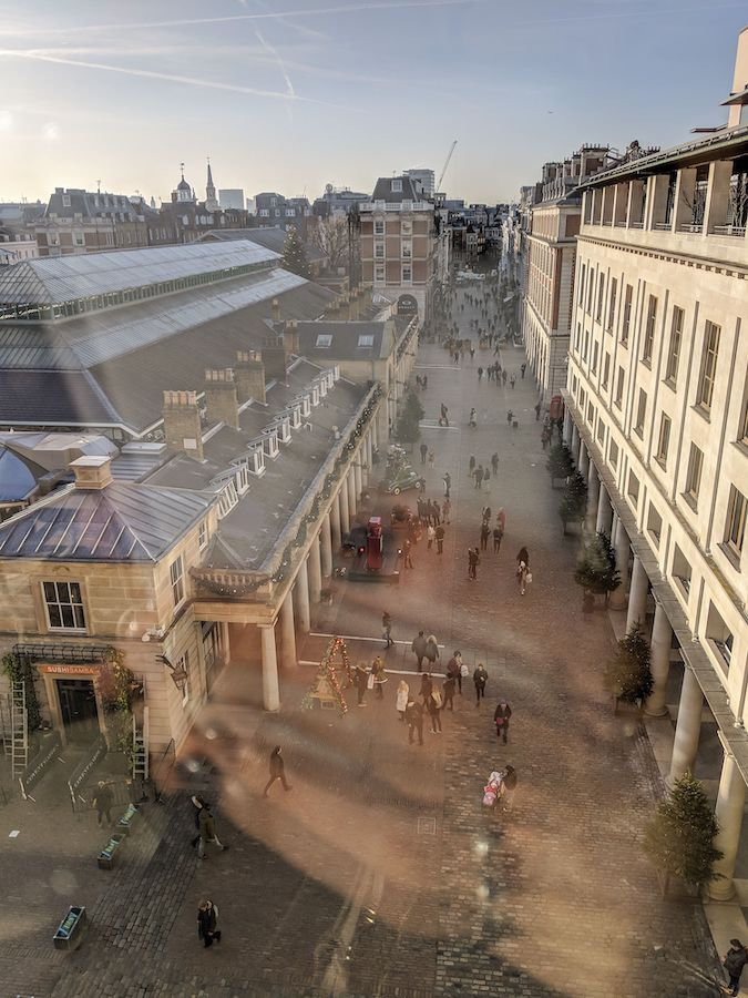 If you find yourself in Covent Garden before the shops open-- or heck, even if they are open-- pop into the Royal Opera House.